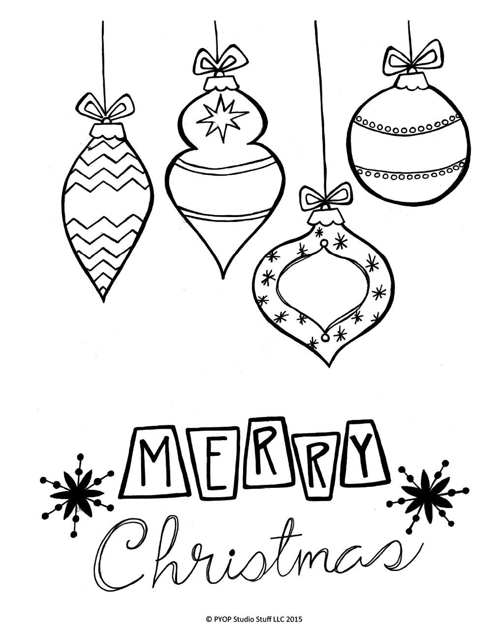 Retro Christmas – PYOP Studio Stuff